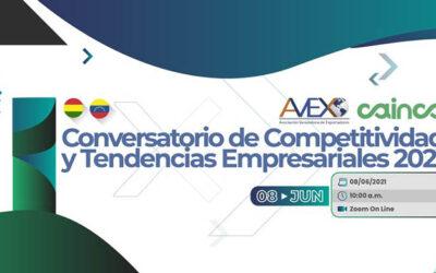 Bancoex invita al Conversatorio de Competitividad y Tendencia Empresarial 2021