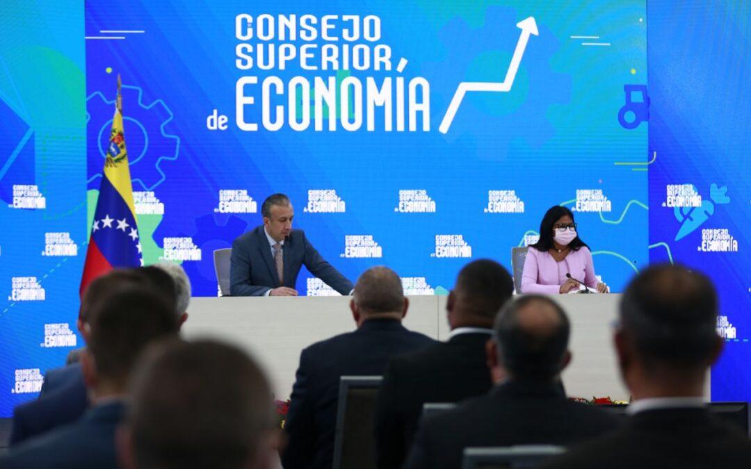 Vicepresidenta Ejecutiva instaló Consejo Superior de Economía